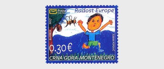 The Joy of Europe - Children's Drawing 2017 - Set