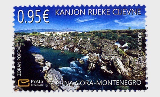 Nature Protection - The Cijevna River Canyon - Set