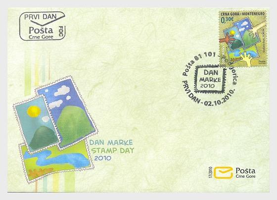 Journée du Timbre - Enveloppes de Premier Jour