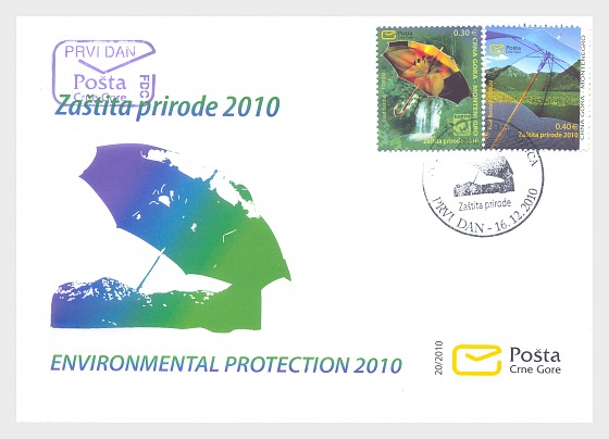 Environmental Protection 2010 - First Day Cover
