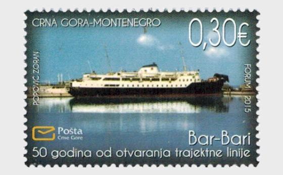 50 ans depuis l'ouverture de la route du ferry Bar-Bari - Séries
