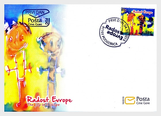 The Joy of Europe 2019 - First Day Cover