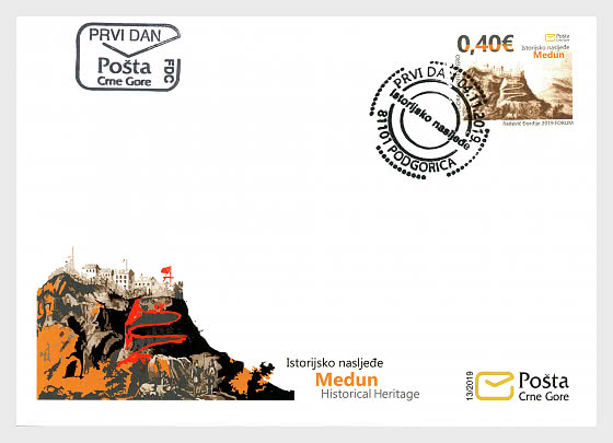 Patrimoine Historique Medun - Enveloppes de Premier Jour