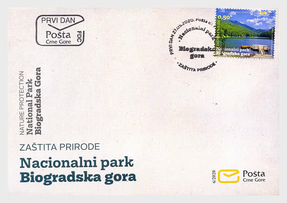 Nature Protection National Park Biogradska Gora - First Day Cover