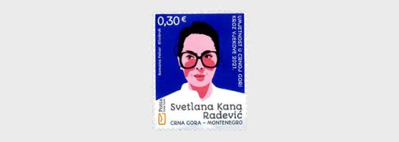 Arte A Través De Los Siglos En Montenegro 2021 - Svetlana Kana Radevic - Series