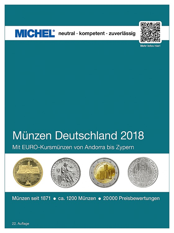 Münzen Deutschland 2018 - Germania