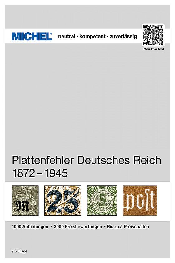 Plattenfehler Deutsches Reich 1872-1945 - Germania