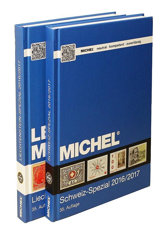 Schweiz-Spezial- & MICHEL-LBK-Liechtenstein-Spezial 2016/2017 (Set) - Switzerland