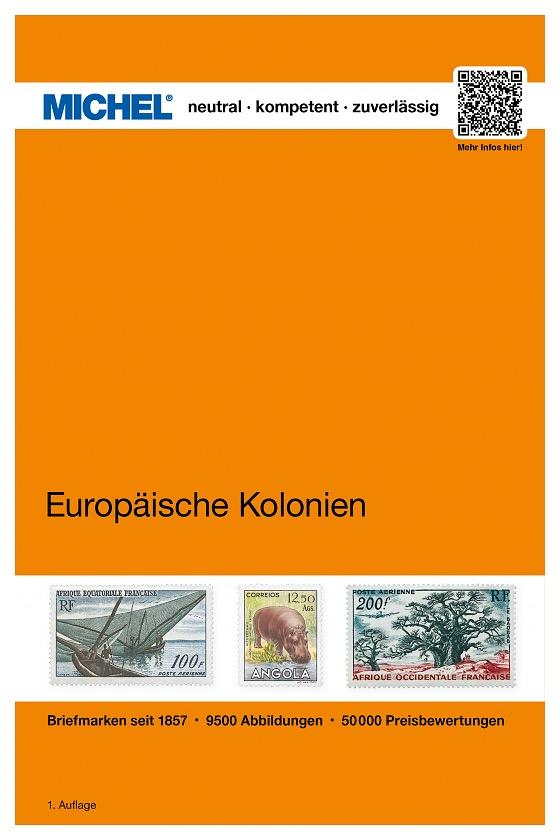 Europäische Kolonien und Gebiete. Kolonien von Deutschland, Belgien, Dänemark, Italien, Niederlande, Portugal und Spanien - Europa Misc.