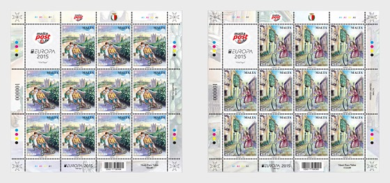 Europa 2015 - Old Toys - Sheetlets