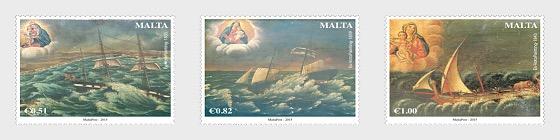 Maritime Malta Series III - Ex-Voto Paintings - Set