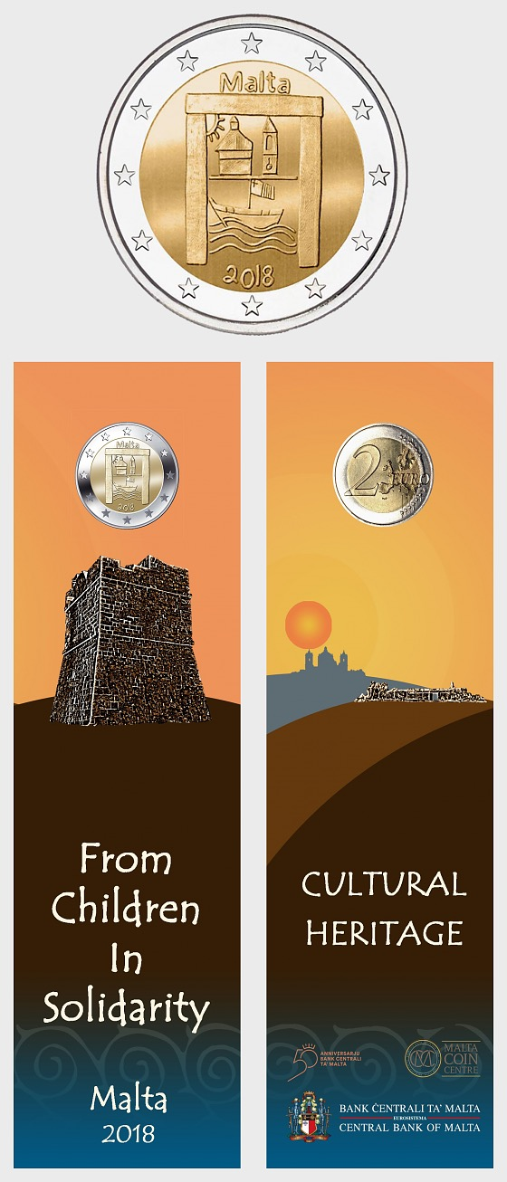 Cultural Heritage €2 Coin Card - Coin Card