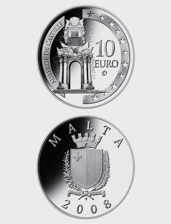Auberge de Castille - Silver Coin - Silver Coin