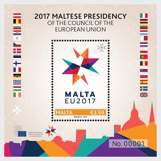 2017 Presidenza Maltese del Consiglio dell'Unione europea - Foglietti