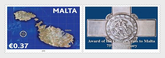 75 ° Anniversario dal Premio della George Cross a Malta - Serie