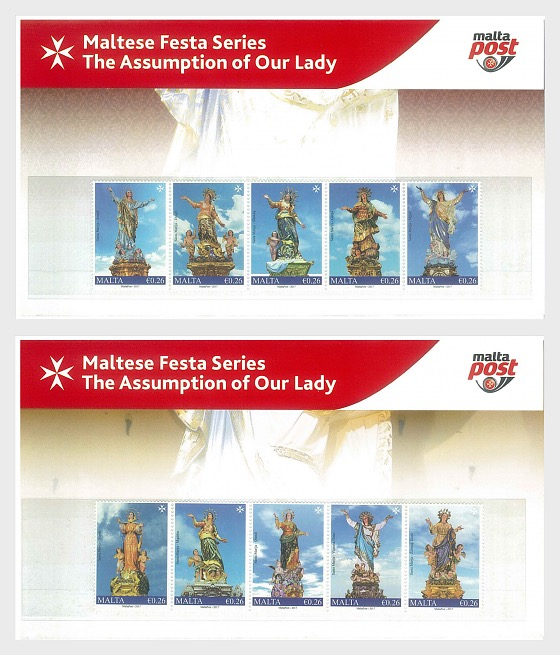 Maltese Festa Series - The Assumption Of Our Lady 2017 - Presentation Pack