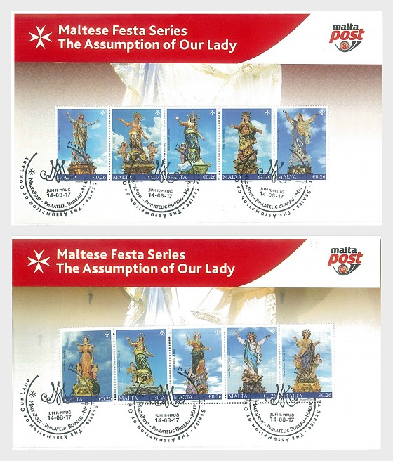 Maltese Festa Series - The Assumption Of Our Lady 2017 - Special Folder