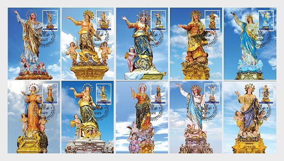 Festa Series - Assumption Of Our Lady 2017 - (Max. Cards Our Lady w/s 48-57 x 10) - Maxi Cards
