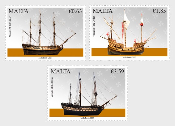 Serie Malta Marittima V - Navi dell'ordine - Serie