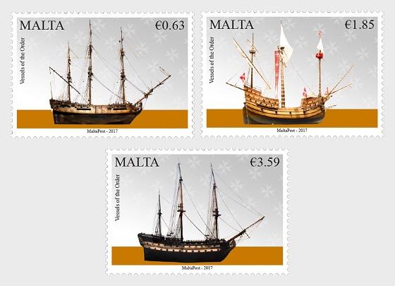 Maritime Malta Series V - Vessels of the Order - Set
