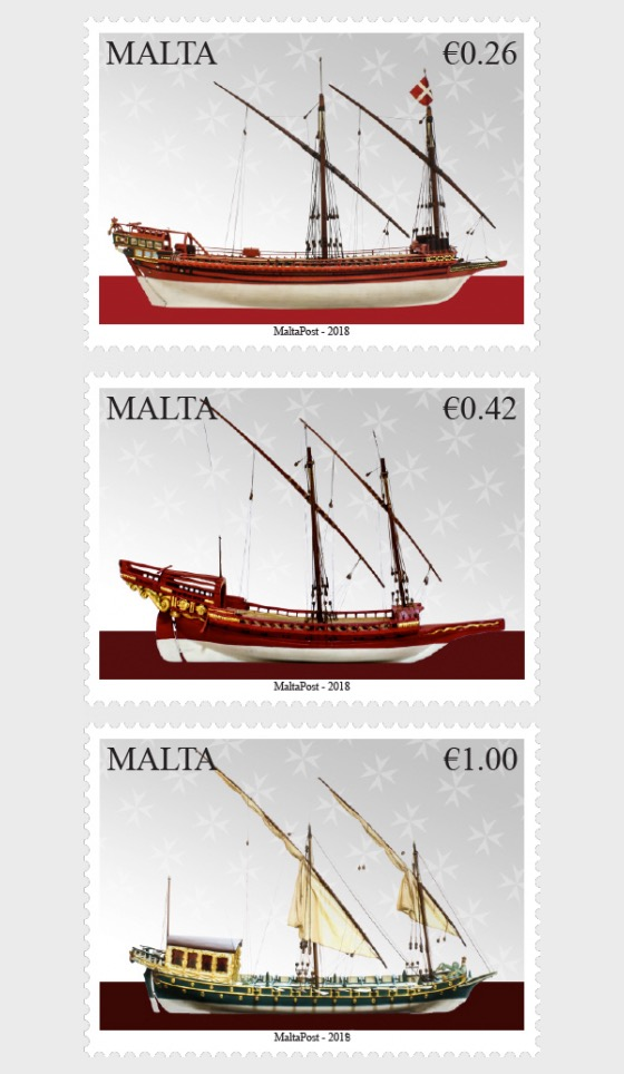 Maritime Malta Series VI - Vessels of the Order - Set