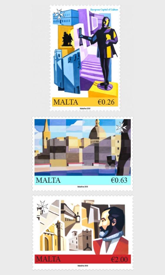Valletta 2018 - European Capital of Culture - Set