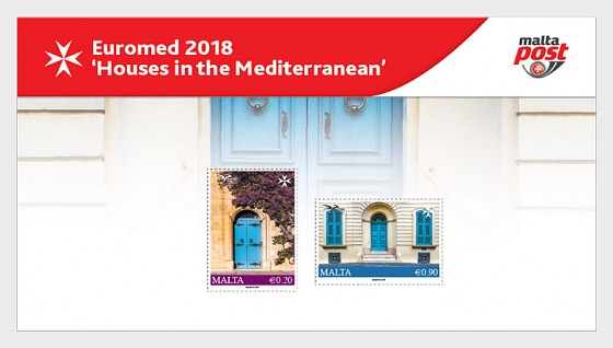 Euromed Postal - 'Houses in the Mediterranean' - Presentation Pack