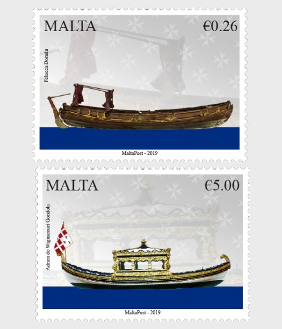 Maritime Malta Series VII 'Vessels of the Order - Set