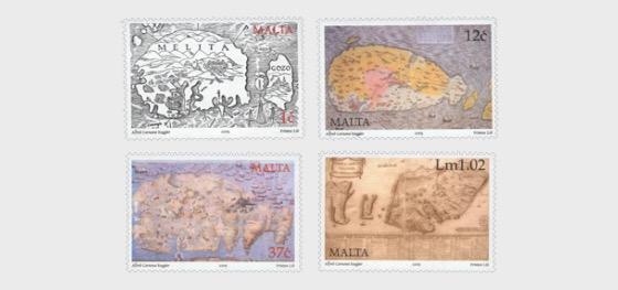 Les cartes anciennes de Malte - Séries