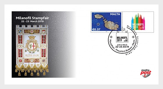 Milanofil Stamp Fair - First Day Cover
