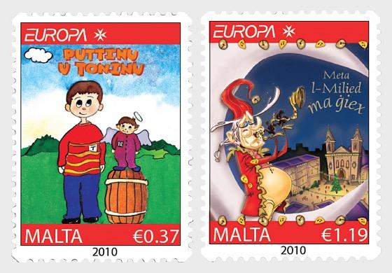 2010年欧罗巴邮票 - 套票
