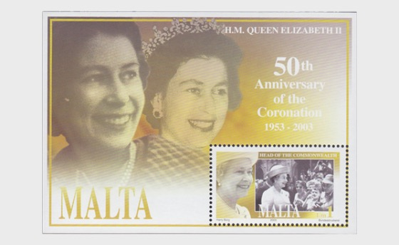 Queen's Coronation - Miniature Sheet