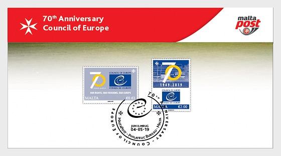 70 ° Anniversario Consiglio d'Europa - Collezionabile
