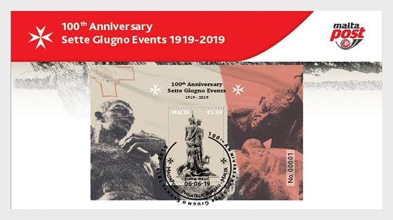100th Anniversary Sette Giugno Events 1919 - 2019 - Collectibles