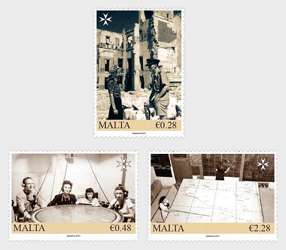 Malta im Krieg - Die Kartenplotter 2019 - Serie