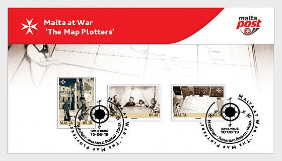 Malta At War - The Map Plotters 2019 - Collectibles