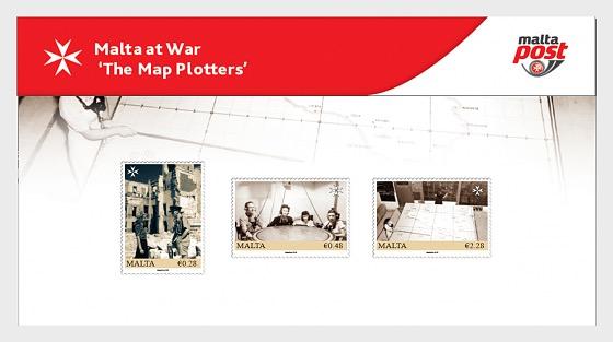 Malta At War - The Map Plotters 2019 - Presentation Pack