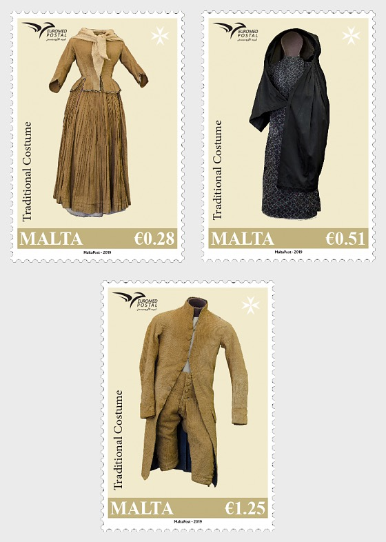 Euromed Postal - 'Traditional Costumes' - Set
