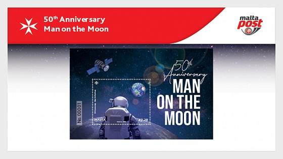 50th Anniversary Man On The Moon - Presentation Pack