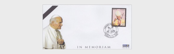 Pope John Paul II - First Day Cover