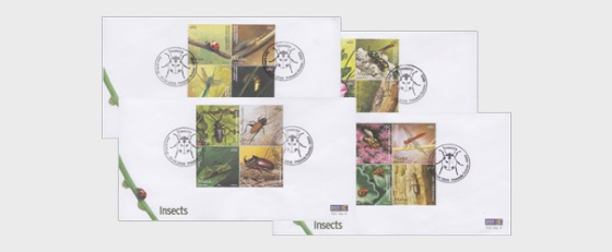 Insects - First Day Cover