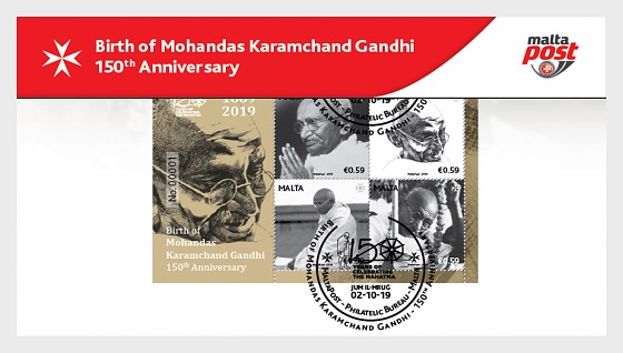 Birth of Mohandas Karamchand Gandhi - 150th Anniversary - Collectibles