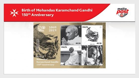Birth of Mohandas Karamchand Gandhi - 150th Anniversary - Presentation Pack