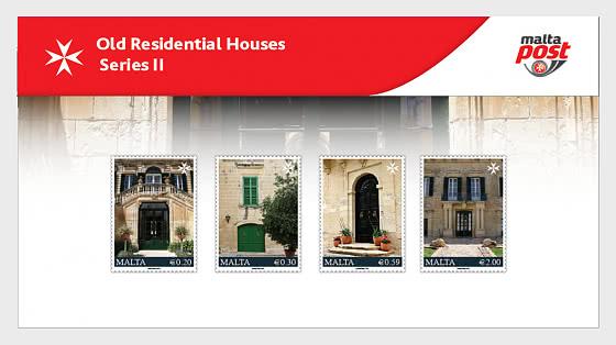 Vieilles Maisons D'Habitation Série II - Paquet de présentation