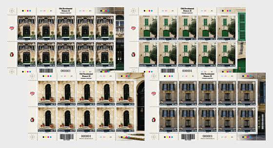 Vieilles Maisons D'Habitation Série II - Mini-feuilles