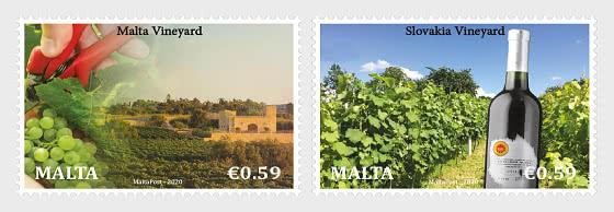 Question commune Malte - Slovaquie «Viticulture» - Séries