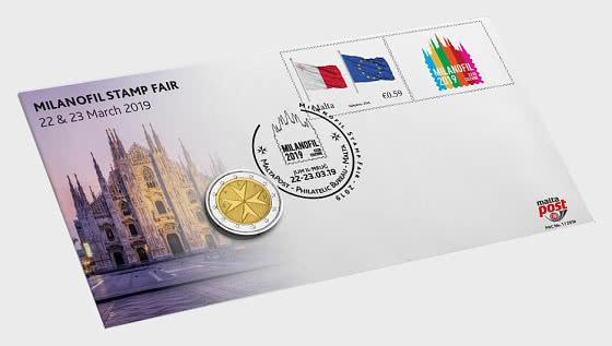 Malta 2019 PNC - 钱币封