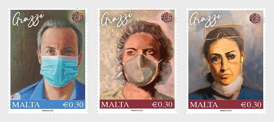 Malta Healthcare Heroes COVID-19 - Set