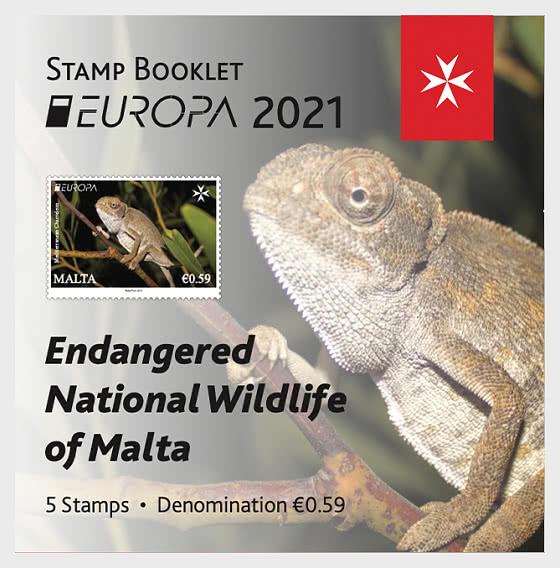 Europa 2021 - Faune Nationale En Voie De Disparition - Carnet