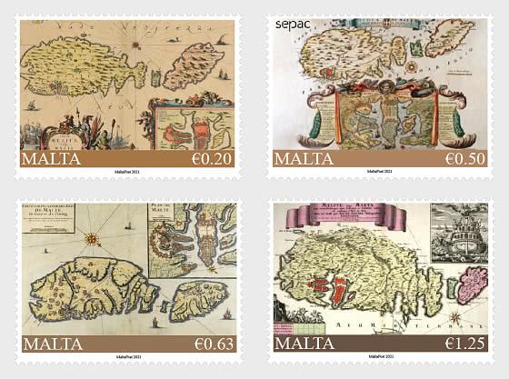 SEPAC – Historical Maps Of Malta - Set